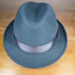 Chapéu de feltro 100% Pelo Cury aba 4,5
