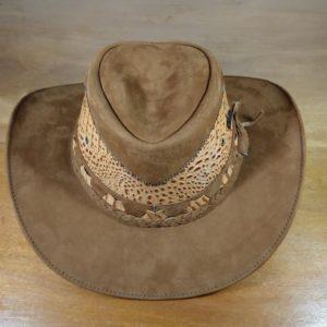 Chapéu de couro Silver