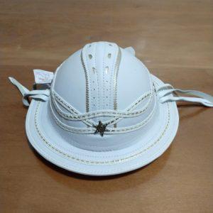 Chapéu de couro modelo Dominguinhos