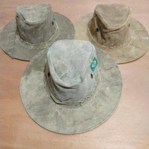 Chapéu de Lona velha.