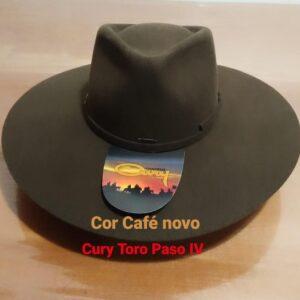 Chapéu Cury Pelo e lã Toro Paso IV aba 10