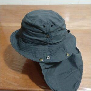 Chapéu Australiano com saia removível – tecido UV
