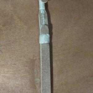 Barbicacho de couro tipo Nuqueira III –